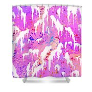 Marshmallow Mountain Shower Curtain