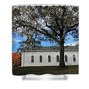 Martha Mary Chapel In Sudbury Ma 2 Shower Curtain