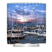 Martha's Vineyard Shower Curtain