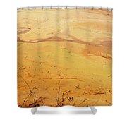 Martian River Shower Curtain