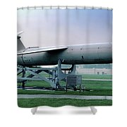 Martin Cgm-13b Mace Uav, Surface-to-surface Tactical Missile Shower Curtain