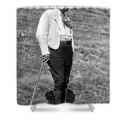 Martin Heidegger (1889-1976) Shower Curtain
