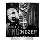 Martin Luther King Day Shower Curtain