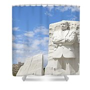 Martin Luther King Dc Memorial Shower Curtain