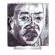 Martin Luther King Shower Curtain