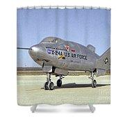 Martin Marietta X 24a Experimental Us Aircraft  Shower Curtain