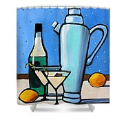 Martini Night Shower Curtain