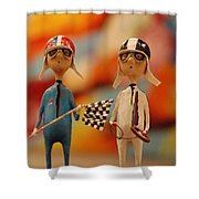 Martini Racing Shower Curtain