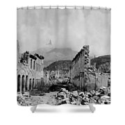 Martinique: Ruins Shower Curtain