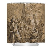 Martyrdom Of Saint Andrew Shower Curtain