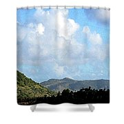 Marvellous Clouds Shower Curtain