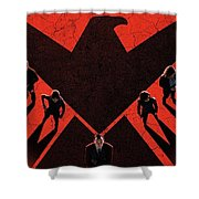 Marvel's Agents Of S.h.i.e.l.d. Shower Curtain
