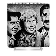 Marx Bros Shower Curtain