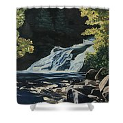 Mary Ann Falls On The Cabot Trail Shower Curtain