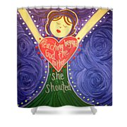 Mary Daly Shower Curtain