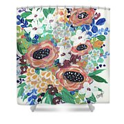 Mary Delores Shower Curtain