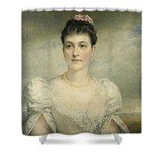 Mary Gardiner Thompson Shower Curtain