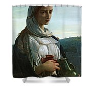 Mary Madgalen Shower Curtain