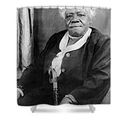 Mary Mcleod Bethune Shower Curtain by Granger