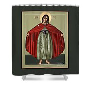 Mary Of The Magnificat Mother Of The Poor 091 Shower Curtain