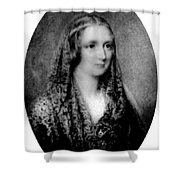 Mary Shelley, English Author Shower Curtain