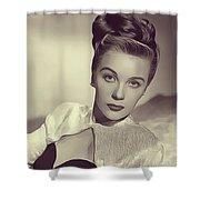 Mary Stuart, Vintage Actress Shower Curtain