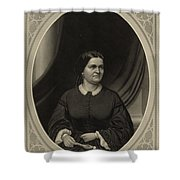 Mary Todd Lincoln, First Lady Shower Curtain