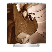Mary Wilson Of The Supremes... Shower Curtain