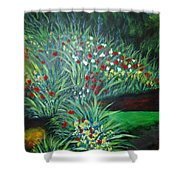 Maryann's Garden 3 Shower Curtain