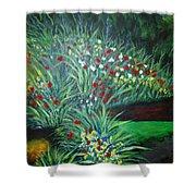 Maryann's Garden 3 Shower Curtain