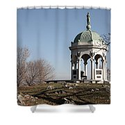 Maryland Monument At Antietam Shower Curtain