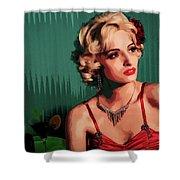 Marylin Monroe Shower Curtain