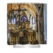 Mary's Church Shower Curtain