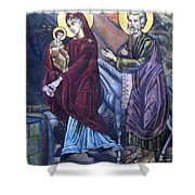 Mary's Well Shower Curtain