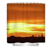 Maryvale Goldrise Cvs Shower Curtain