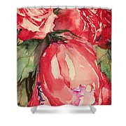 Ma's Roses 4 Shower Curtain