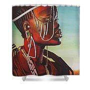 Masai Shower Curtain