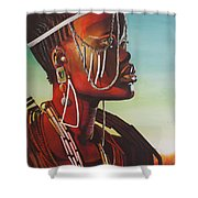 Masai Shower Curtain