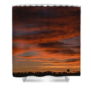 Masai Mara Sunset Shower Curtain