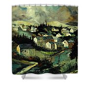 Masbourg Shower Curtain