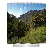 Masca Valley And Parque Rural De Teno 2 Shower Curtain