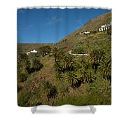 Masca Valley And Parque Rural De Teno 3 Shower Curtain