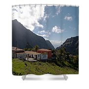Masca Valley And Parque Rural De Teno 4 Shower Curtain