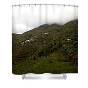 Masca Valley And Parque Rural De Teno 5 Shower Curtain