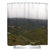 Masca Valley And Parque Rural De Teno 6 Shower Curtain