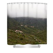 Masca Valley And Parque Rural De Teno 7 Shower Curtain
