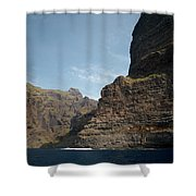 Masca Valley Entrance 1 Shower Curtain