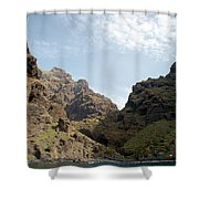 Masca Valley Entrance 2 Shower Curtain