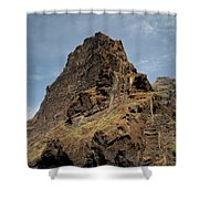 Masca Valley Entrance 3 Shower Curtain