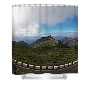 Masca Views 2 Shower Curtain
